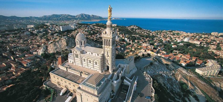 Базилика в окрестностях Марселя