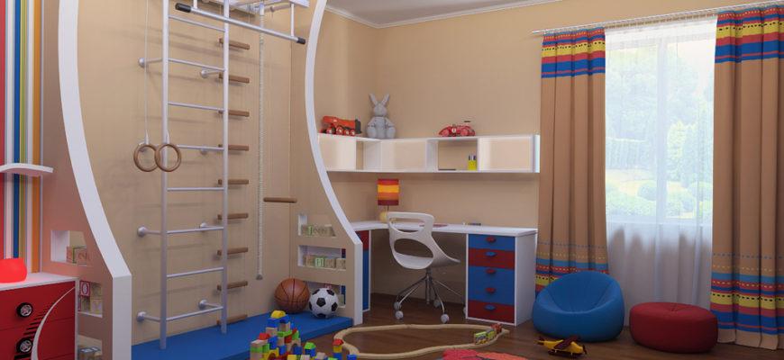 Как сделать ремонт детской комнаты